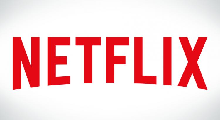 Netflix em um fundo branco