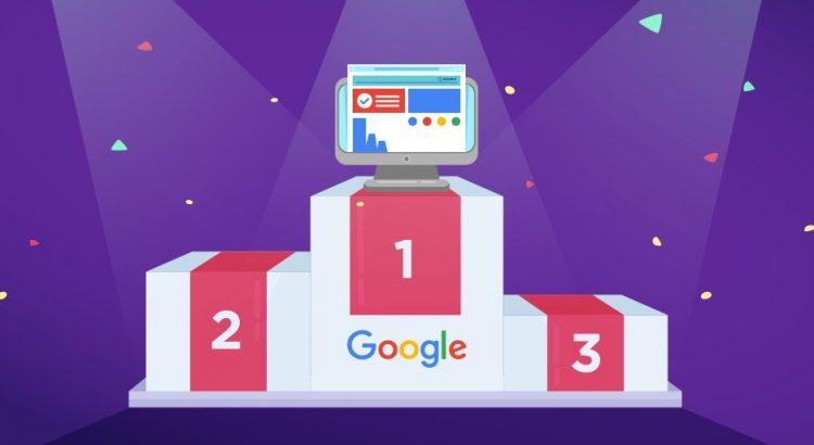 Primeiro lugar no Google: por que é bom estar nessa posição